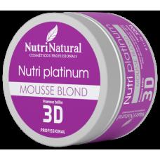 Mousse Blond Nutri Platinum 300g
